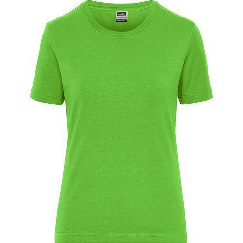 Tee-shirt workwear Bio Femme - vert citron