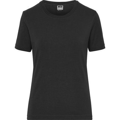 Tee-shirt workwear Bio Femme - noir