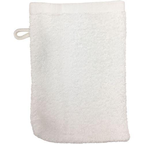 Gant de toilette Bio - blanc