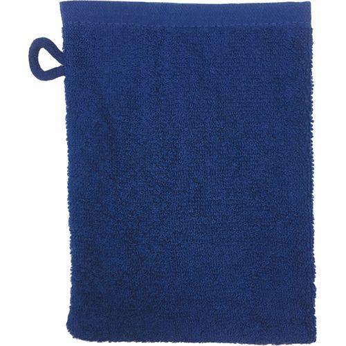 Gant de toilette Bio - bleu marine