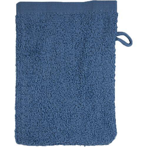 Gant de toilette Bio - bleu denim délavé