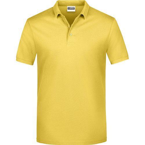 Polo classique Homme - jaune