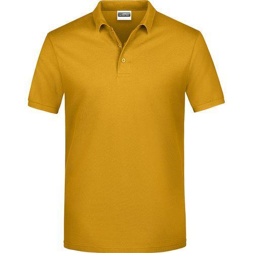 Polo classique Homme - jaune doré