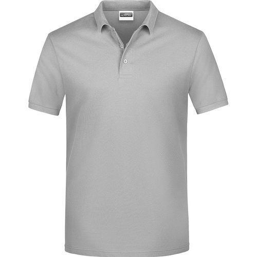 Polo classique Homme - gris clair chiné