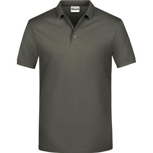 Polo classique Homme - gris foncé