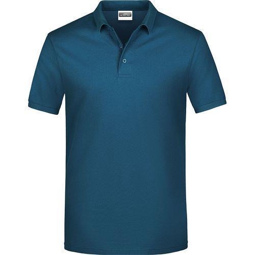 Polo classique Homme - bleu pétrole