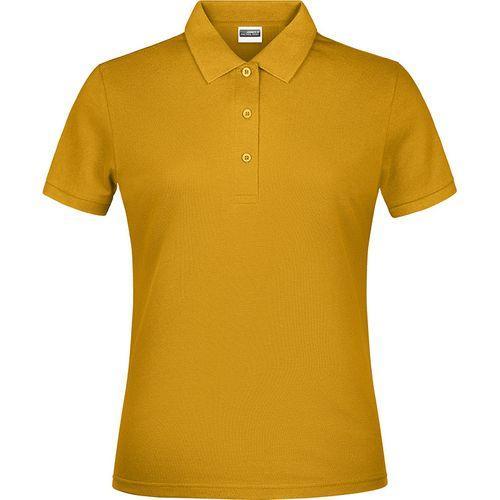Polo classique Femme - jaune doré