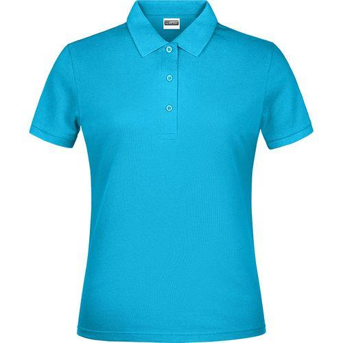 Polo classique Femme - turquoise