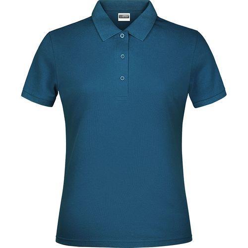 Polo classique Femme - bleu pétrole