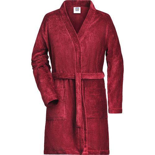 Peignoir Femme - rouge orient