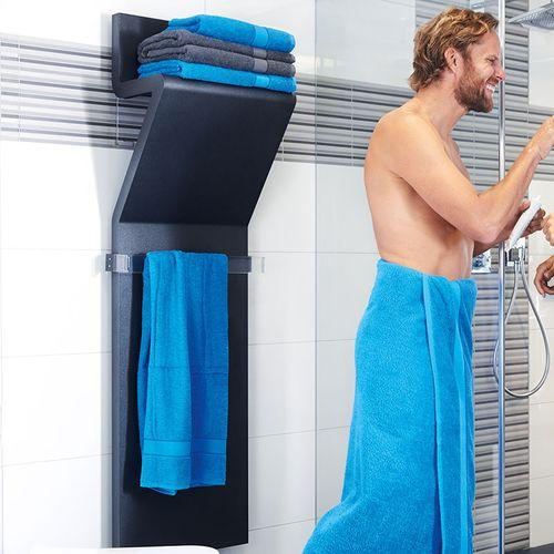 Drap de bain - bleu royal