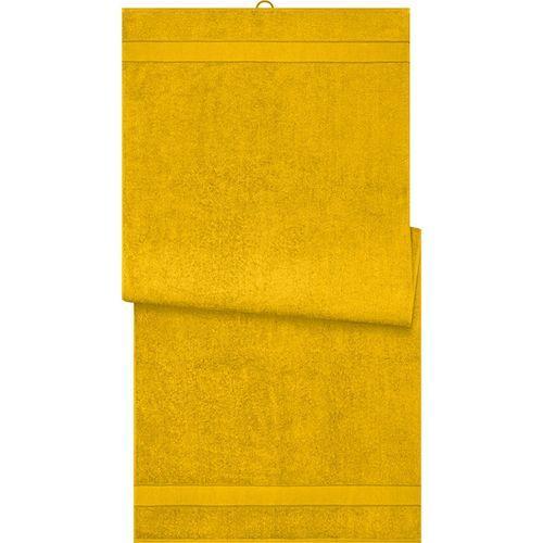 Drap de sauna - jaune