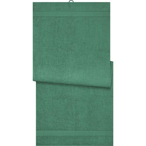 Drap de sauna - vert foncé