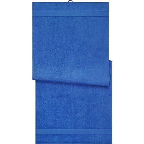 Drap de sauna - bleu royal