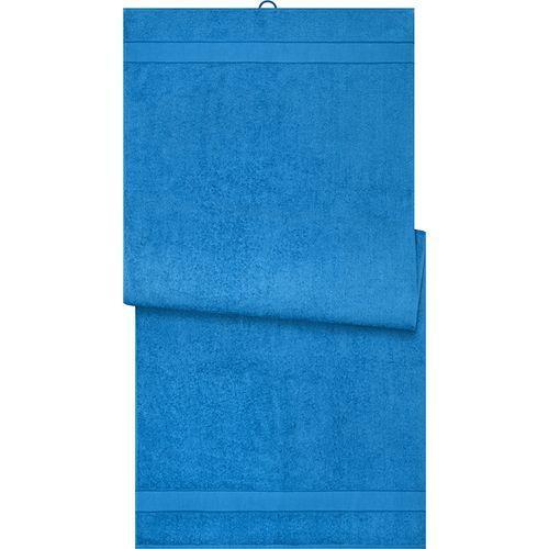 Drap de sauna - bleu cobalt