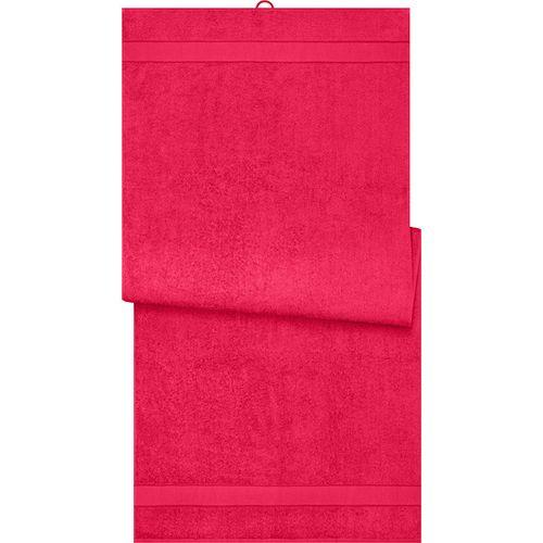 Drap de sauna - rouge