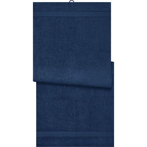 Drap de sauna - bleu marine