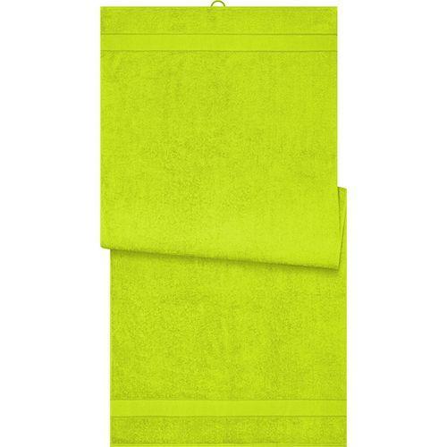 Drap de sauna - jaune acide
