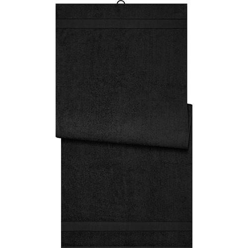 Drap de sauna - noir