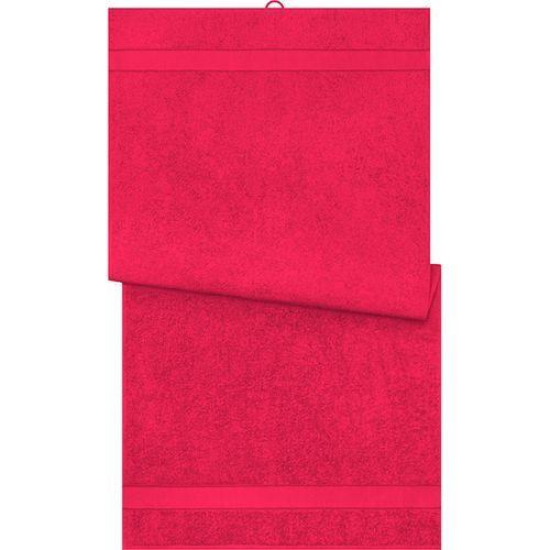 Serviette de bain - rouge