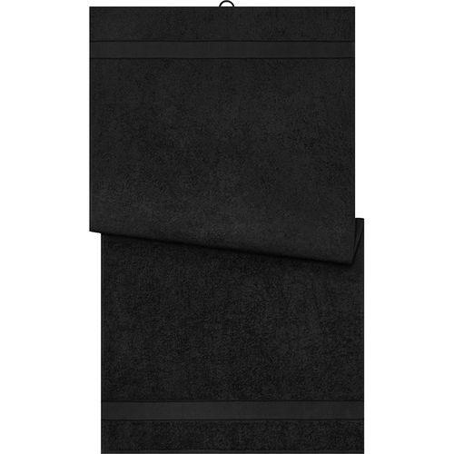 Serviette de bain - noir