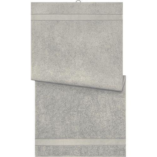 Serviette de bain - gris moyen