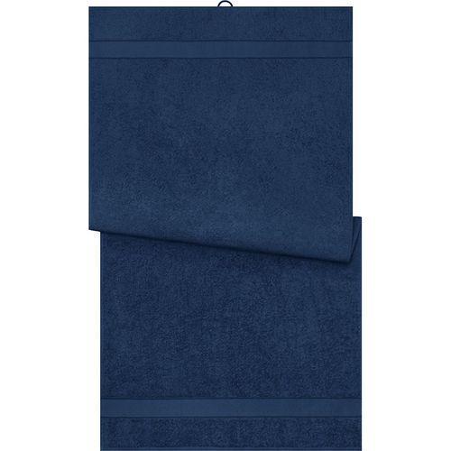 Serviette de bain - bleu marine