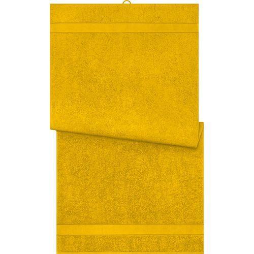 Serviette de bain - jaune