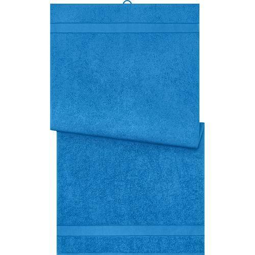 Serviette de bain - bleu cobalt