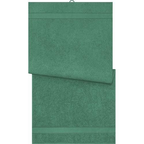 Serviette de bain - vert foncé