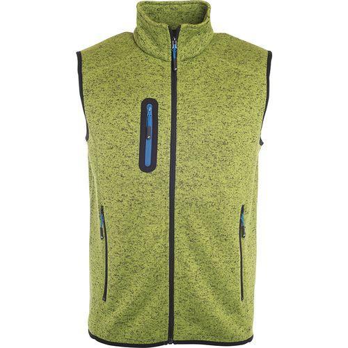 Bodywarmer polaire Homme - vert kiwi mélangé