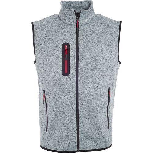 Bodywarmer polaire Homme - rouge