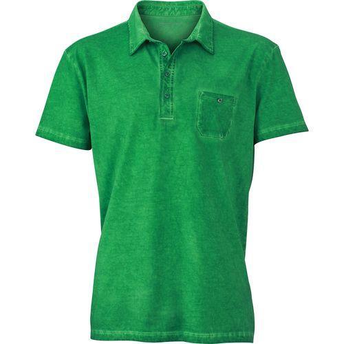 Polo fashion Homme - vert fougère