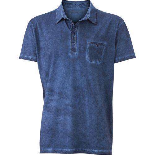 Polo fashion Homme - bleu denim