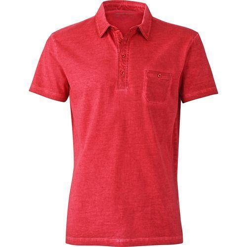 Polo fashion Homme - rouge piment