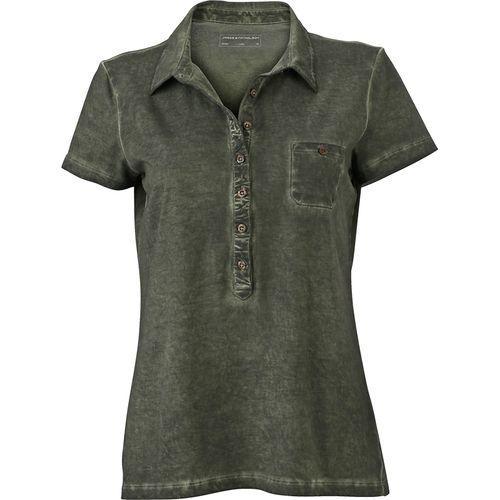 Polo fashion Femme - olive