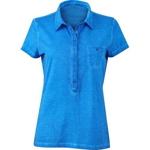 Polo fashion Femme - bleu atlantique