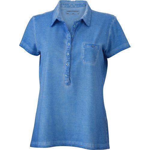 Polo fashion Femme - bleu horizon