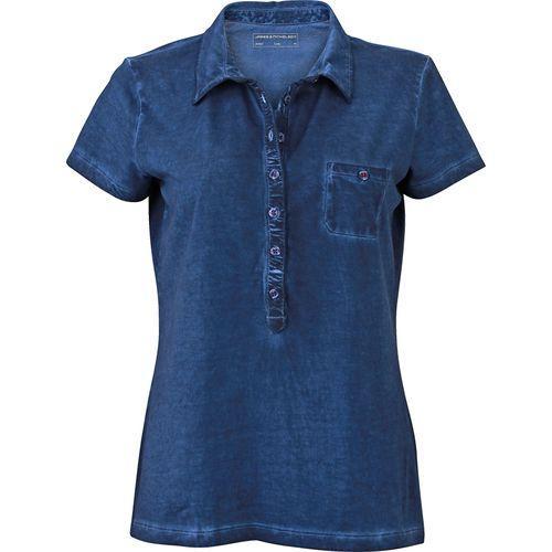 Polo fashion Femme - bleu denim