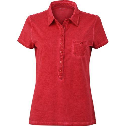 Polo fashion Femme - rouge piment