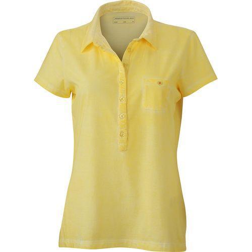Polo fashion Femme - jaune clair