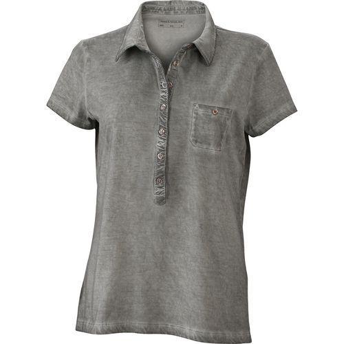 Polo fashion Femme - gris