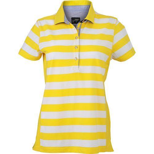 Polo fashion Femme - jaune