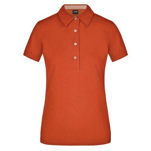 Polo fashion Femme - orange foncé