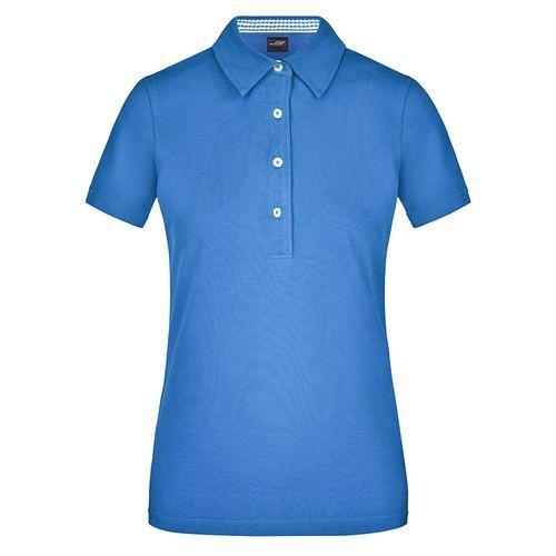 Polo fashion Femme - bleu glacier