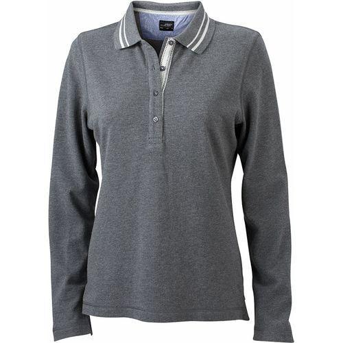 Polo fashion Femme - gris mélangé