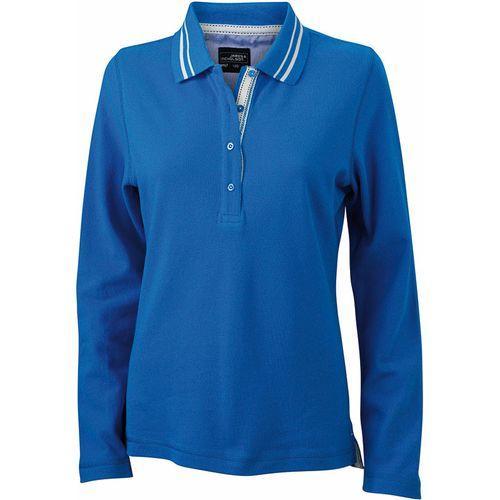 Polo fashion Femme - bleu cobalt