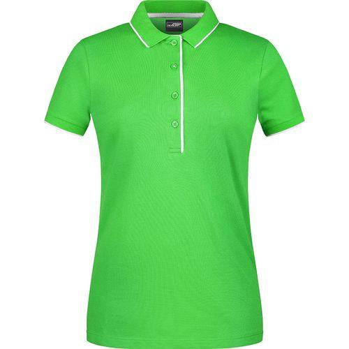 Polo classique Femme - vert prairie