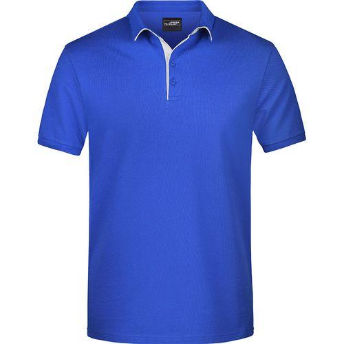 Polo classique Homme - bleu royal