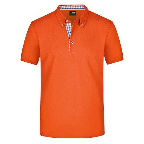 Polo fashion Homme - orange foncé
